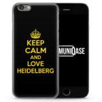 Keep Calm And Love Heidelberg - Slim Handyhülle für iPhone 6 Plus & 6s Plus
