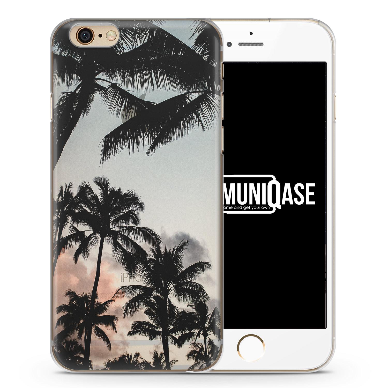 Palmen Landschaft Tropical - transparente Handyhülle für iPhone 6 Plus & 6s Plus