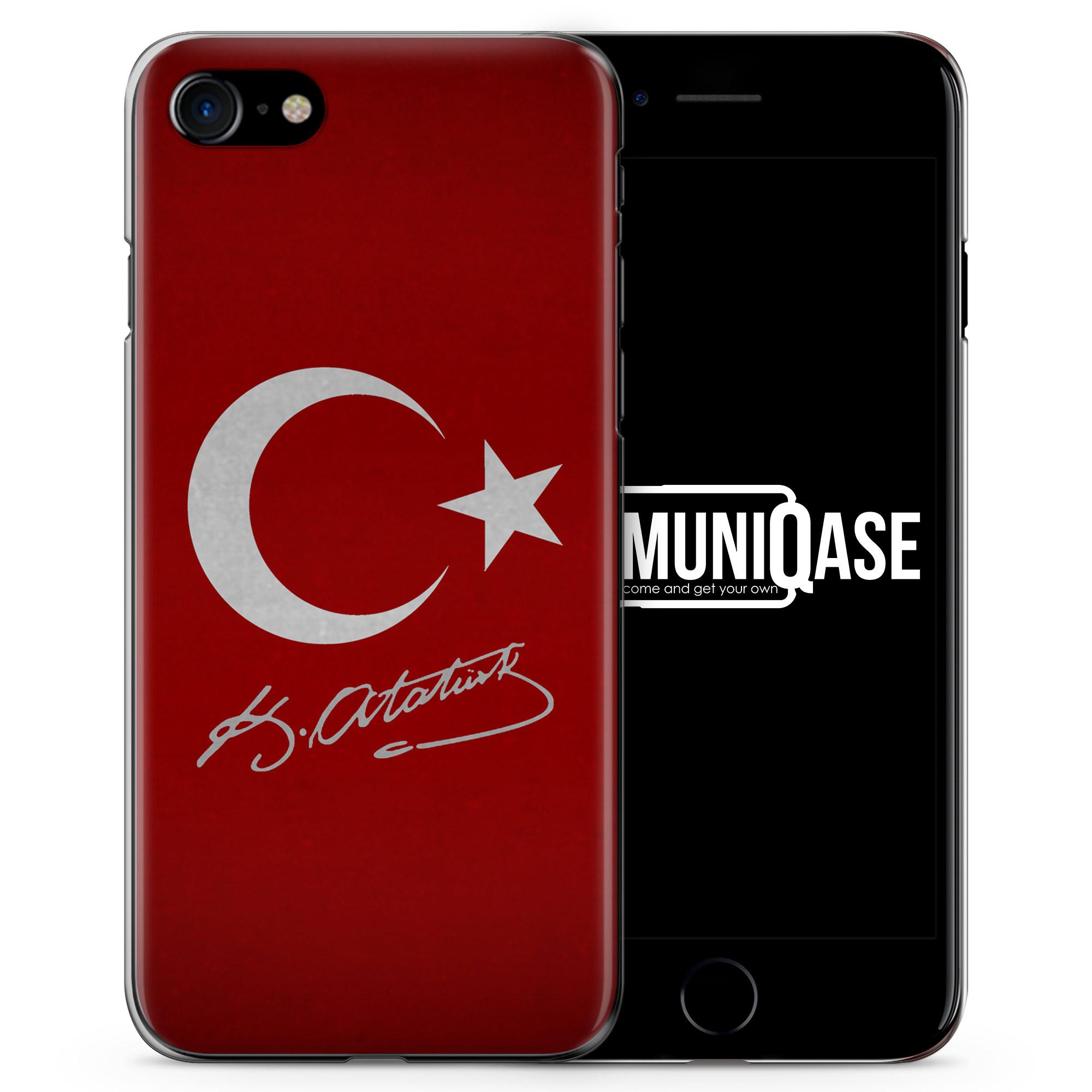 Türkei + Atatürk - Slim Handyhülle für iPhone 7