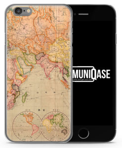 Vintage Weltkarte - Slim Handyhülle für iPhone 6 Plus & 6s Plus