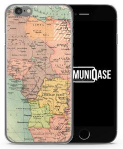 Vintage Weltkarte Afrika - Slim Handyhülle für iPhone 6 Plus & 6s Plus