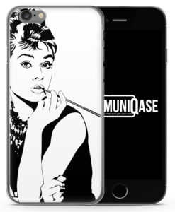 Audrey Hepburn Vintage - Slim Handyhülle für iPhone 6 Plus & 6s Plus