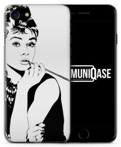 Audrey Hepburn Vintage - Slim Handyhülle für iPhone 7