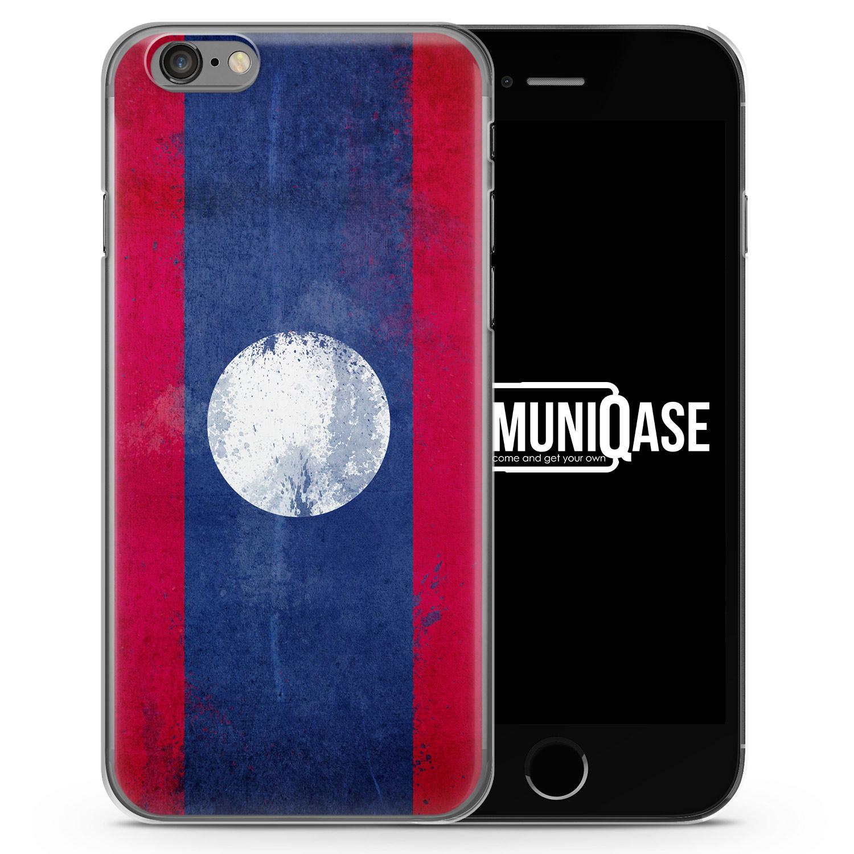 Laos Grunge - Slim Handyhülle für iPhone 6 Plus & 6s Plus