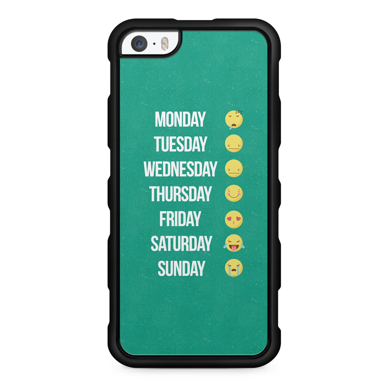 Emoji Week - Silikon Handyhülle für iPhone SE