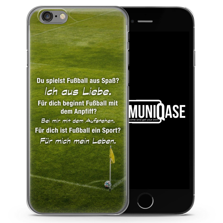 Fußball Liebe - Slim Handyhülle für iPhone 6 Plus & 6s Plus