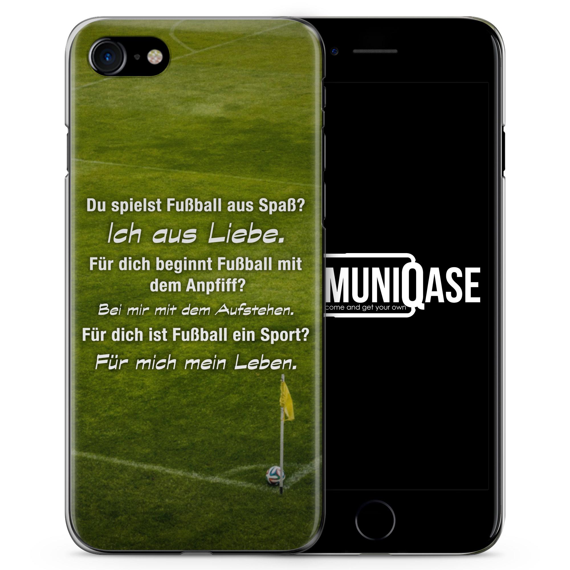 Fußball Liebe - Slim Handyhülle für iPhone 7