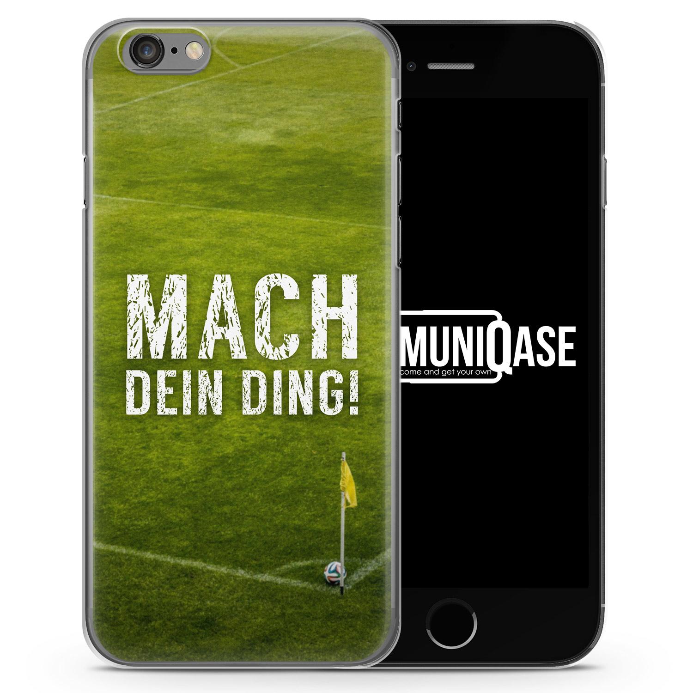 Mach Ding! Fußball - Slim Handyhülle für iPhone 6 Plus & 6s Plus