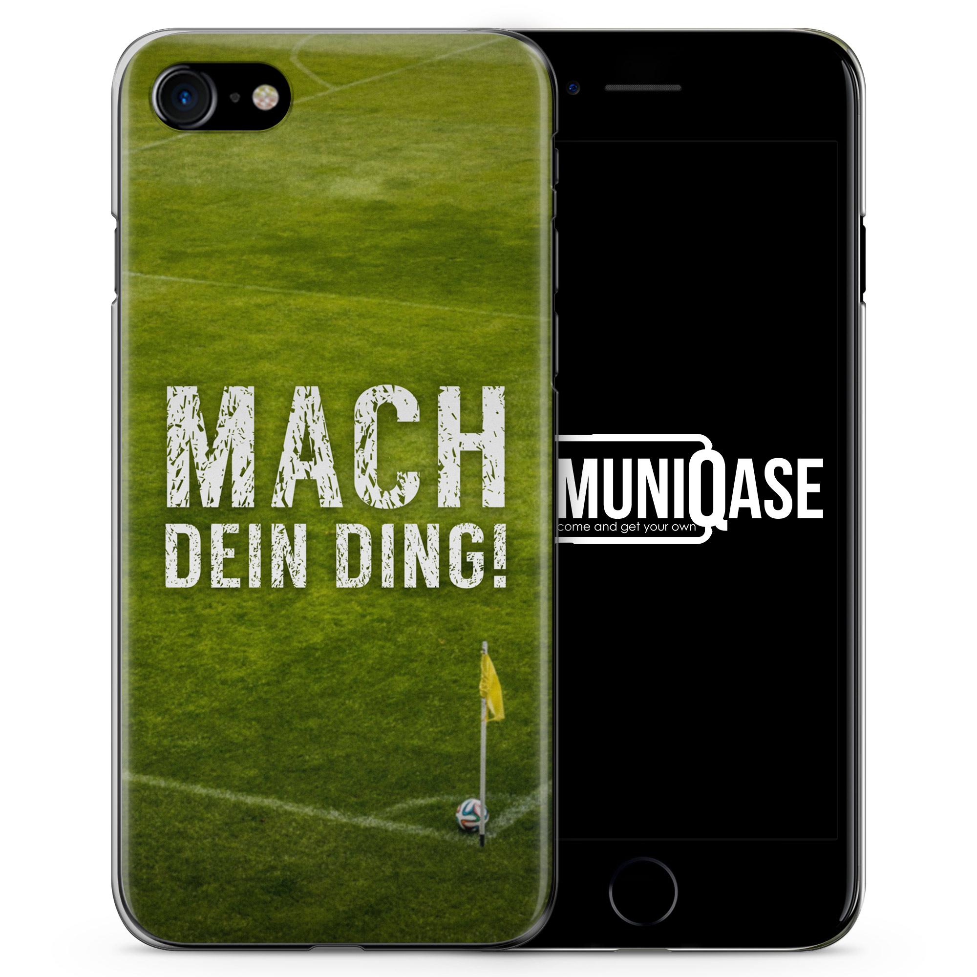 Mach Ding! Fußball - Slim Handyhülle für iPhone 7