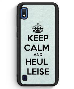 Samsung Galaxy A10 Silikon Hülle - Keep Calm And Heul Leise