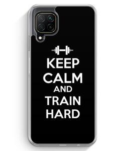 Huawei P40 lite Hülle - Keep Calm And Train Hard