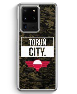 Samsung Galaxy S20 Ultra Hülle - Torun City Camouflage Polen