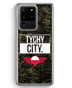 Samsung Galaxy S20 Ultra Hülle - Tychy City Camouflage Polen