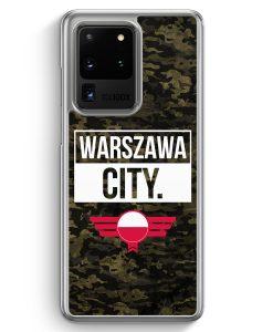 Samsung Galaxy S20 Ultra Hülle - Warszawa City Camouflage Polen