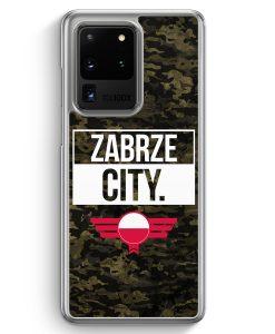 Samsung Galaxy S20 Ultra Hülle - Zabrze City Camouflage Polen