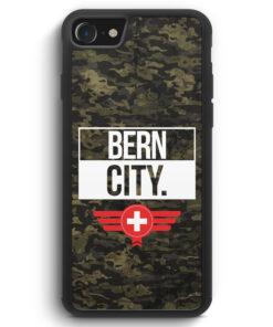 iPhone SE 2020 Silikon Hülle - Bern City Camouflage Schweiz