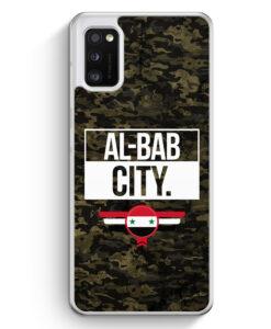 Samsung Galaxy A41 Hülle - Al Bab City Camouflage Syrien