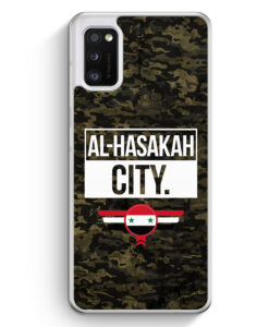 Samsung Galaxy A41 Hülle - Al Hasakah City Camouflage Syrien