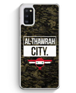 Samsung Galaxy A41 Hülle - Al Thawrah City Camouflage Syrien