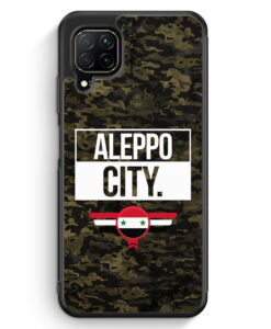 Huawei P40 lite Silikon Hülle - Aleppo City Camouflage Syrien