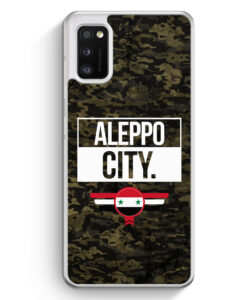 Samsung Galaxy A41 Hülle - Aleppo City Camouflage Syrien