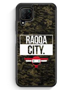 Huawei P40 lite Silikon Hülle - Raqqa City Camouflage Syrien