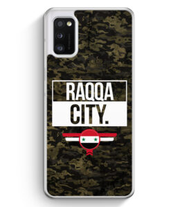 Samsung Galaxy A41 Hülle - Raqqa City Camouflage Syrien