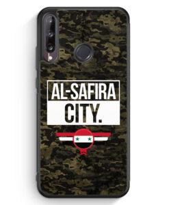 Huawei P40 lite E Silikon Hülle - Al Safira City Camouflage Syrien
