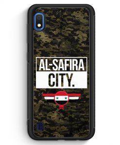 Samsung Galaxy A10 Silikon Hülle - Al Safira City Camouflage Syrien
