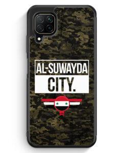 Huawei P40 lite Silikon Hülle - Al Suwayda City Camouflage Syrien