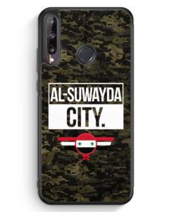 Huawei P40 lite E Silikon Hülle - Al Suwayda City Camouflage Syrien