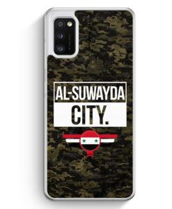 Samsung Galaxy A41 Hülle - Al Suwayda City Camouflage Syrien