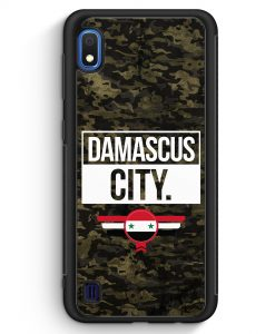 Samsung Galaxy A10 Silikon Hülle - Damascus City Camouflage Syrien