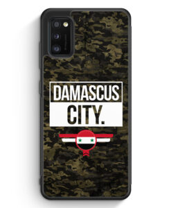 Samsung Galaxy A41 Silikon Hülle - Damascus City Camouflage Syrien