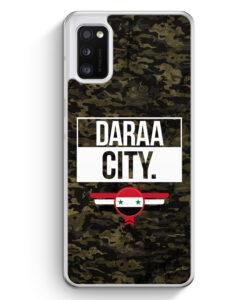 Samsung Galaxy A41 Hülle - Daraa City Camouflage Syrien