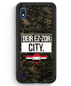 Samsung Galaxy A10 Silikon Hülle - Deir Ez Zor City Camouflage Syrien
