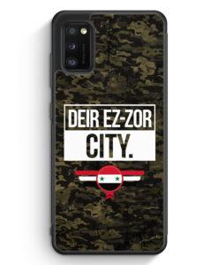 Samsung Galaxy A41 Silikon Hülle - Deir Ez Zor City Camouflage Syrien