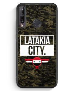 Huawei P40 lite E Silikon Hülle - Latakia City Camouflage Syrien