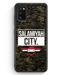 Samsung Galaxy A41 Silikon Hülle - Salamiyah City Camouflage Syrien