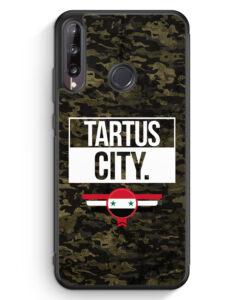 Huawei P40 lite E Silikon Hülle - Tartus City Camouflage Syrien