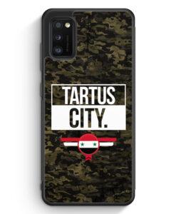 Samsung Galaxy A41 Silikon Hülle - Tartus City Camouflage Syrien