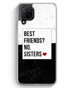 Huawei P40 lite Hülle - Best Friends? Sisters.