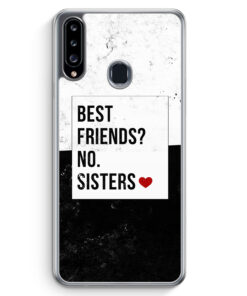 Samsung Galaxy A20s Hülle - Best Friends? Sisters.