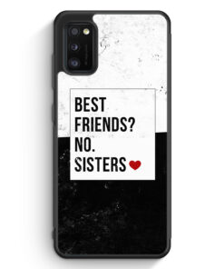 Samsung Galaxy A41 Silikon Hülle - Best Friends? Sisters.