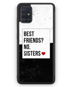 Samsung Galaxy A51 Silikon Hülle - Best Friends? Sisters.