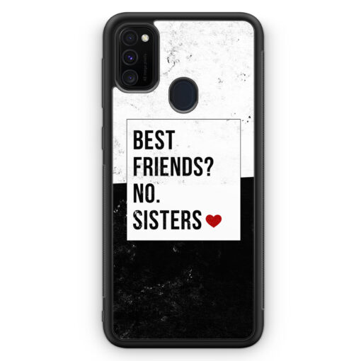Samsung Galaxy M21 Silikon Hülle - Best Friends? Sisters.