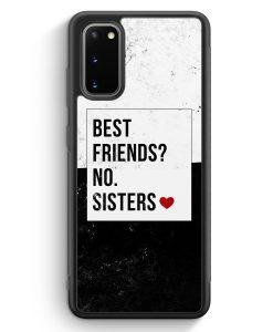 Samsung Galaxy S20 Silikon Hülle - Best Friends? Sisters.