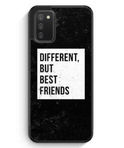 Different But Best Friends - Silikon Hülle für Samsung Galaxy A02s