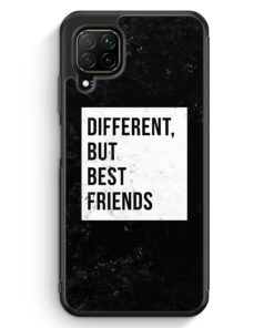 Huawei P40 lite Silikon Hülle - Different But Best Friends