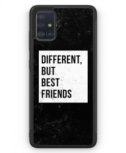 Samsung Galaxy A51 Silikon Hülle - Different But Best Friends